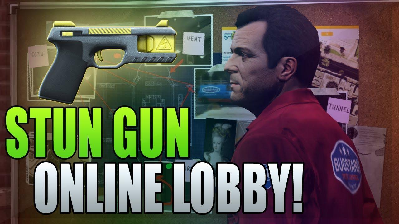 Guns Gta 5 Online Gta 5 Mods Stun Gun Taser