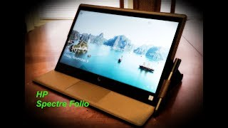 Unboxing the Brand New HP Spectre Folio Touchscreen Laptop