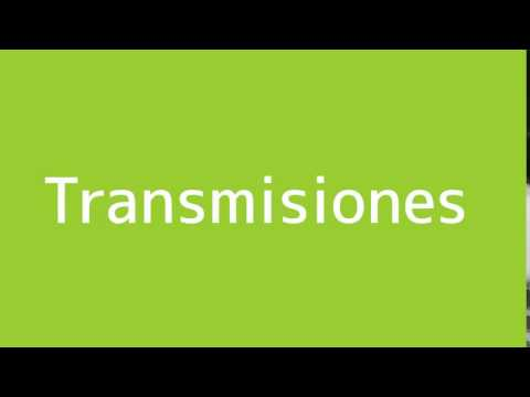 How to say Broadcasts in Spanish