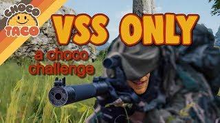 22-Kill VSS ONLY CHALLENGE - chocoTaco PUBG Gameplay