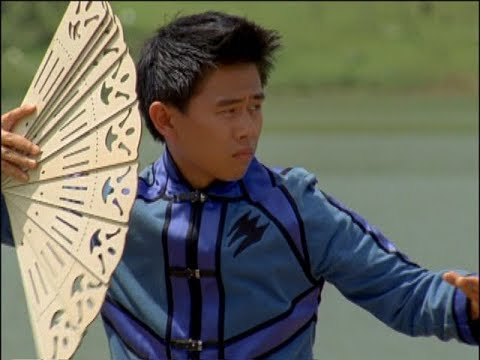Power Rangers Jungle Fury - Blind Leading the Blind - Master Swoop trains Theo (Episode 10)