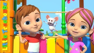 Head Shoulders Knees And Toes | Nursery Rhymes by Little Treehouse