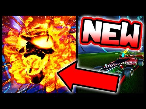 "USING NEW ""HELLFIRE"" GOAL EXPLOSION!! ( #1 Black Market in Rocket League )"
