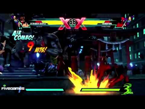 Ultimate Marvel Vs Capcom 3 - Trailer Official [HD720p]