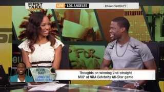 Kevin Hart On ESPN First Take! (Taking shots At Stephen A Smith & Skip Bayless)