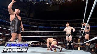 හය දෙනෙකුගේ සුපිරි කෑම වටය....  Six-Man Tag Team Match: SmackDown