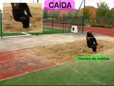triple salto. Atletismo
