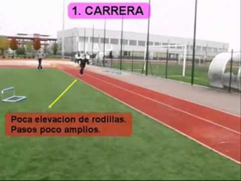 triple salto. Atletismo