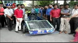 Engineering Students Design Solar Racing Cars | Sri Sairam Engineering College