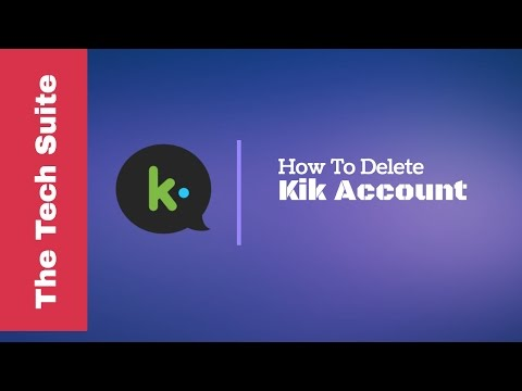 How To Delete Kik Account - Deactivate Kik Account Permanently