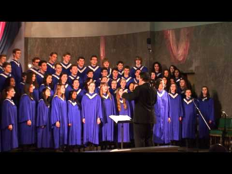 Grant High School A Cappella Choir - Grotto 2012 - O Holy Night