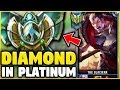 I TOOK MY DARIUS INTO PLATINUM 5! DIAMOND DARIUS MAIN VS PLATINUM ELO! - League of Legends