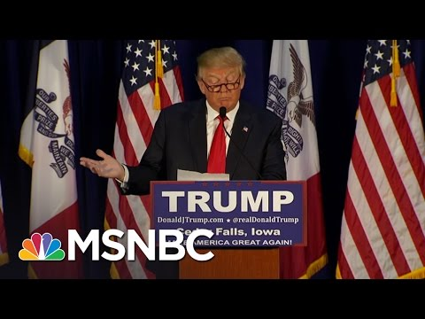 Donald Trump Does Dramatic Reading Of 'The Snake' | MSNBC