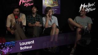 The Awkwards - Interview - Montreux Jazz Festival 2010
