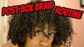 POST BOX BRAID/PRE WASH DAY ROUTINE |  Ft. Eden BodyWorks Hair Masque Treatment