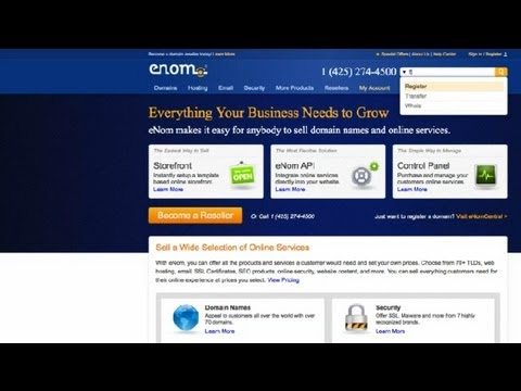 0 How to Register a Domain Name : How to Register a Domain Name