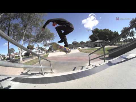 X Games Trick Tips -- Dane Burman 360 flips