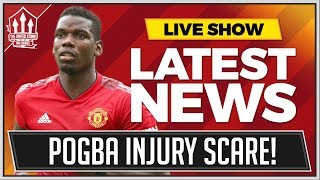 POGBA OUT OF MANCHESTER DERBY? Man Utd News Now