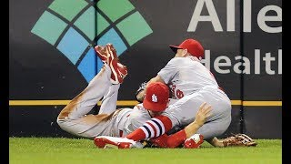 MLB Brutal Collisions (HD)