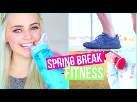 Get in Shape for Spring Break! Healthy Food & Fitness Ideas! | Aspyn Ovard