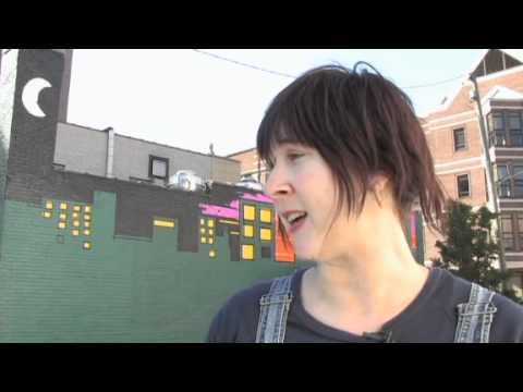 Play Video Cityscape Mural By Katie Halton