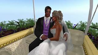 Steven and Bre Second Life Wedding - 8.18.17