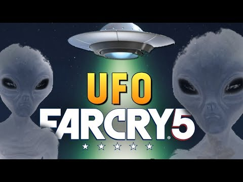 Far Cry 5 - НЛО В ИГРЕ! ГДЕ НАЙТИ ОРУЖИЕ ЧУЖИХ? #7