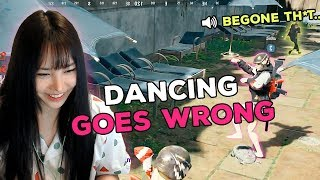 WHEN VICTORY DANCE GOES WRONG - PUBG WTF Girl Streamer Moments Ep. 14