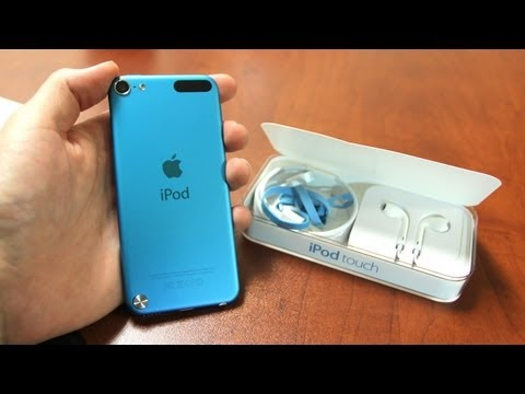 iPod Touch 5th Generation Unboxing! (iPod Touch 5G 5th Gen Unboxing)
