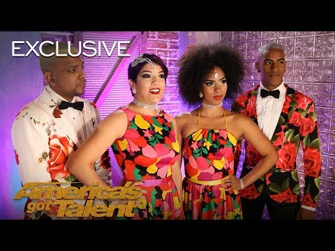 Salsa Dancers Reyes Del Swing Live Out Their American Dream - America's Got Talent 2018