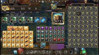 After the deluxe / 45 000 gold. 1200+ gems, 4737 Cubes,  Wisdom 87-94 / Circus-Gorga-q7 / Raptop pet