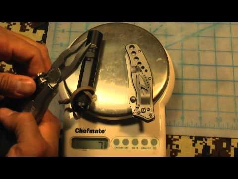 The Trinity of Every Day Carry - Pocket Knife. Flashlight and Multi-Tool