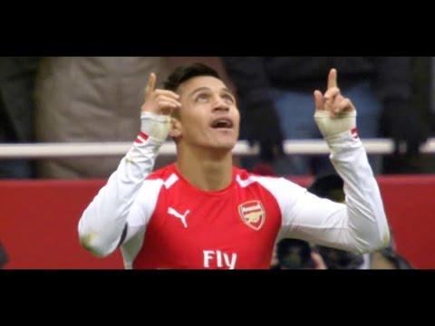 Alexis Sanchez vs Stoke (Home) 14-15 (11/01/2015) - English Commentary