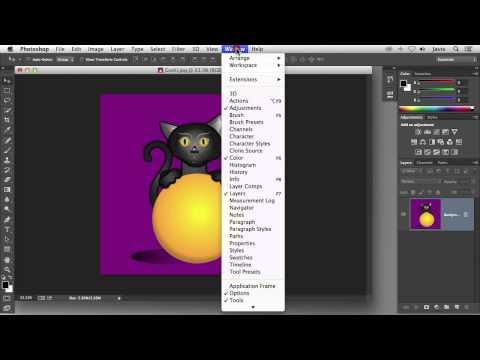 Photoshop CC - Descripcion de la ventana de trabajo de Photoshop