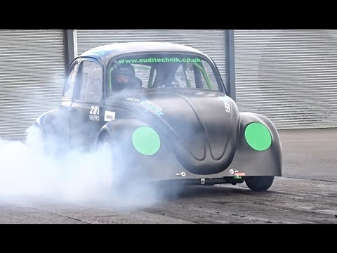 500bhp Subaru Powered VW Beetle - Black Wanger - 10.21 @ 133mph
