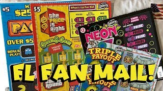 Fan Mail! PAC-MAN. THE PRICE IS RIGHT + More! ✦ Florida Lottery Scratch-Offs