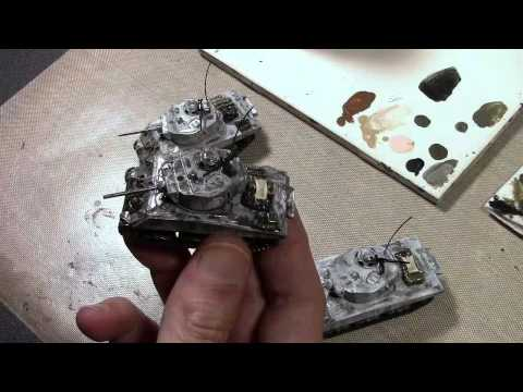 How To Winter Wash 15mm Tanks