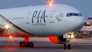 Boeing 777-300ER PIA - GE90 Engine Start! Paris Charles de Gaulle Airport