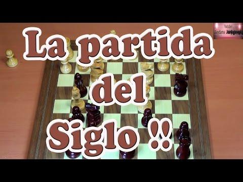 La mejor partida de ajedrez de todos los tiempos la partida del siglo