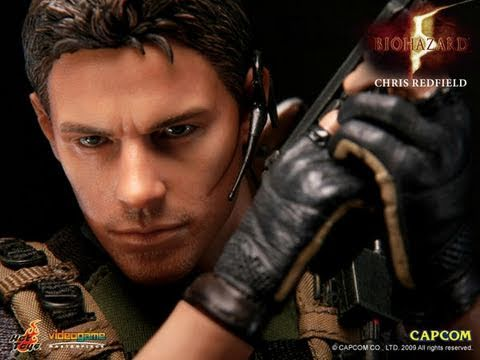 Resident Evil 5 Hot Toys Chris Redfield BSAA Version 1/6 Scale Video Game Figure Review
