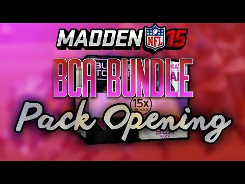 Madden 15 Ultimate Team - BCA BUNDLE Pack Opening, STN MTN/KAUAI Review - MUT 15