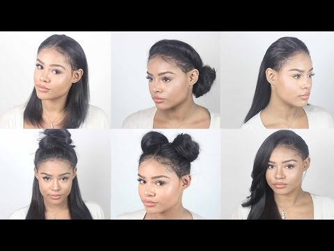 VERSATILE Lace Frontal Sew In Tutorial   No Hair out . No Glue