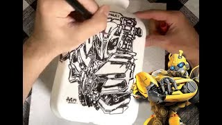 Bubblebee in Whole Milk (Speed Drawing)