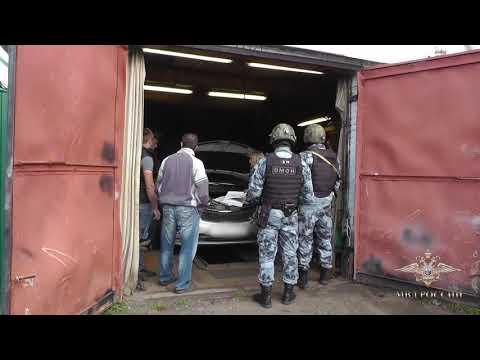 В Ивановской области силовики взяли банду, которая занималась угоном иномарок (видео)