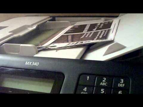 CLIP0030   Canon MX340 all in one printer.