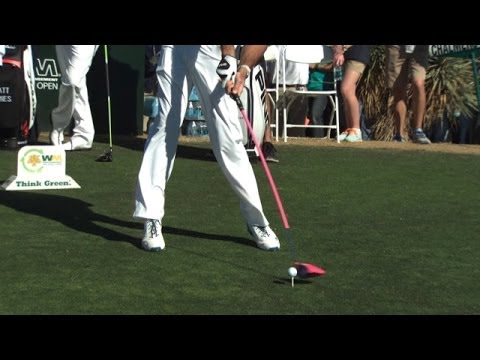 Bubba Watson's swing analysis on No. 13 at Waste Management