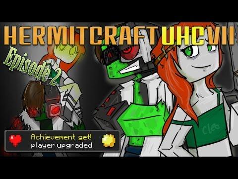 Hermitcraft UHC VII — Cleo & Doc vs Creepers! — E02 | Docm77