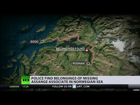 Belongings of Assange's missing associate found in sea of Norwegian coast... speculations begin