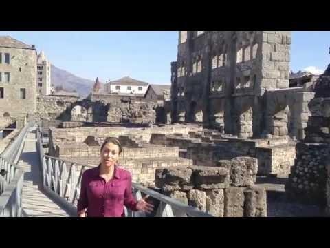 Roman Ruins of Aosta, Italy - Walks Traveler