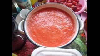 томаты черри  в томатном пюре